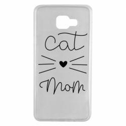 Чохол для Samsung A7 2016 Cat mom