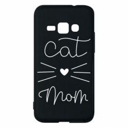 Чохол для Samsung J1 2016 Cat mom