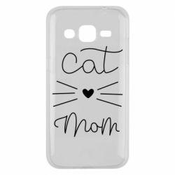 Чохол для Samsung J2 2015 Cat mom