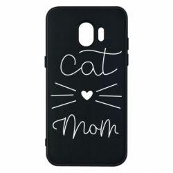 Чохол для Samsung J2 2018 Cat mom