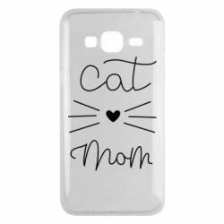 Чохол для Samsung J3 2016 Cat mom