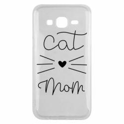 Чохол для Samsung J5 2015 Cat mom