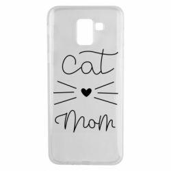 Чохол для Samsung J6 Cat mom