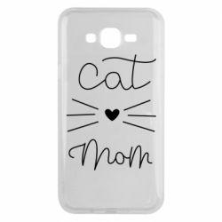 Чохол для Samsung J7 2015 Cat mom