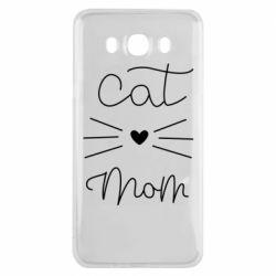 Чохол для Samsung J7 2016 Cat mom