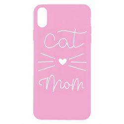 Чохол для iPhone Xs Max Cat mom