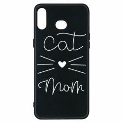 Чохол для Samsung A6s Cat mom