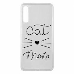 Чохол для Samsung A7 2018 Cat mom