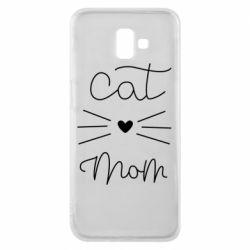 Чохол для Samsung J6 Plus 2018 Cat mom