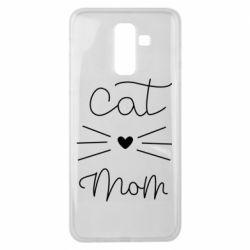Чохол для Samsung J8 2018 Cat mom