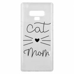 Чохол для Samsung Note 9 Cat mom