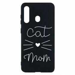 Чохол для Samsung M40 Cat mom