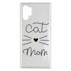 Чохол для Samsung Note 10 Plus Cat mom