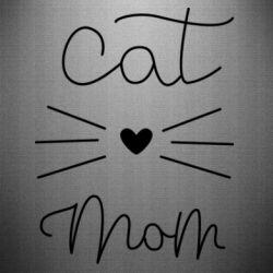 Наклейка Cat mom