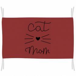 Прапор Cat mom