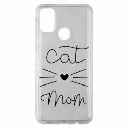 Чохол для Samsung M30s Cat mom