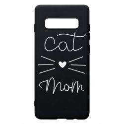 Чохол для Samsung S10+ Cat mom