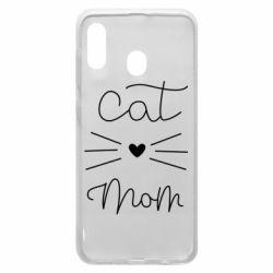 Чохол для Samsung A20 Cat mom