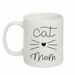 Кружка 320ml Cat mom