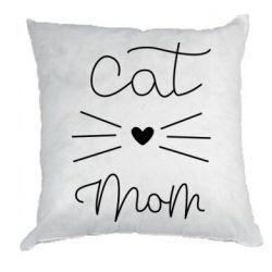 Подушка Cat mom