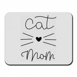 Килимок для миші Cat mom