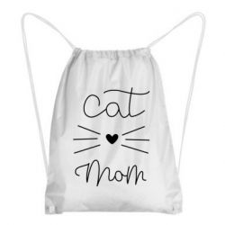 Рюкзак-мішок Cat mom