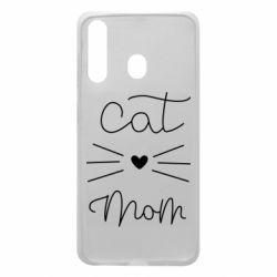 Чохол для Samsung A60 Cat mom