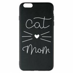 Чохол для iPhone 6 Plus/6S Plus Cat mom
