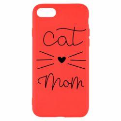 Чохол для iPhone 7 Cat mom