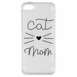 Чохол для iphone 5/5S/SE Cat mom