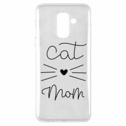 Чохол для Samsung A6+ 2018 Cat mom