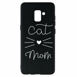 Чохол для Samsung A8+ 2018 Cat mom