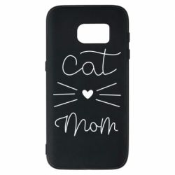 Чохол для Samsung S7 Cat mom
