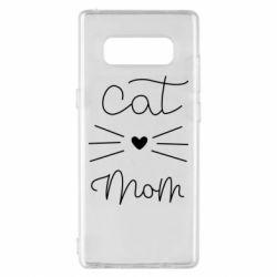 Чохол для Samsung Note 8 Cat mom