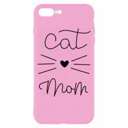 Чохол для iPhone 8 Plus Cat mom