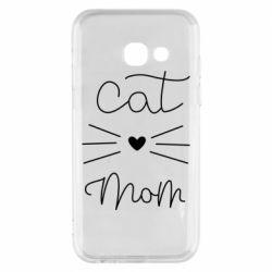 Чохол для Samsung A3 2017 Cat mom