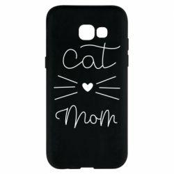 Чохол для Samsung A5 2017 Cat mom