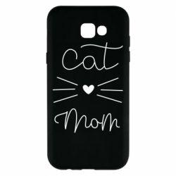 Чохол для Samsung A7 2017 Cat mom