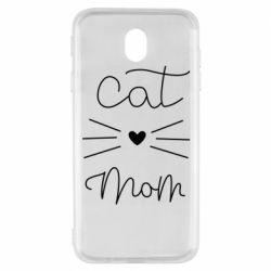 Чохол для Samsung J7 2017 Cat mom