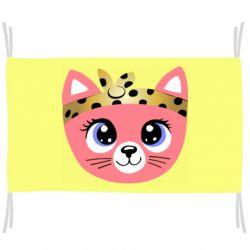 Флаг Cat pink