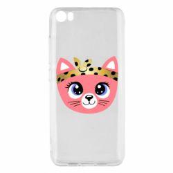 Чехол для Xiaomi Mi5/Mi5 Pro Cat pink