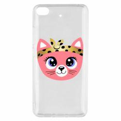 Чехол для Xiaomi Mi 5s Cat pink