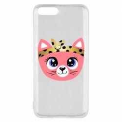 Чехол для Xiaomi Mi6 Cat pink