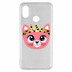 Чехол для Xiaomi Mi8 Cat pink