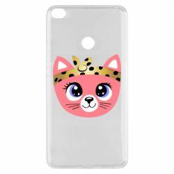 Чехол для Xiaomi Mi Max 2 Cat pink