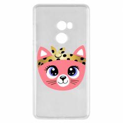 Чехол для Xiaomi Mi Mix 2 Cat pink