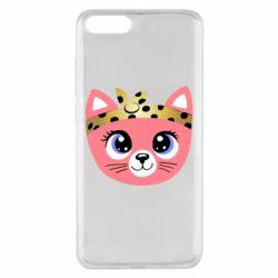 Чехол для Xiaomi Mi Note 3 Cat pink