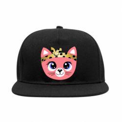 Снепбек Cat pink
