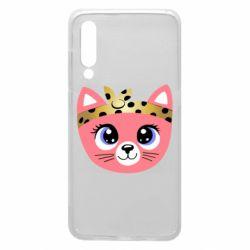 Чехол для Xiaomi Mi9 Cat pink