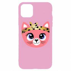 Чехол для iPhone 11 Pro Cat pink